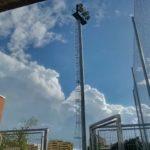 ampliacion y reparacion de torres de alumbrado de eventos