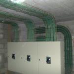 salida en baja tensión de instalación eléctrica