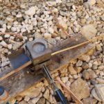 molde para soldaduras aluminotermicas